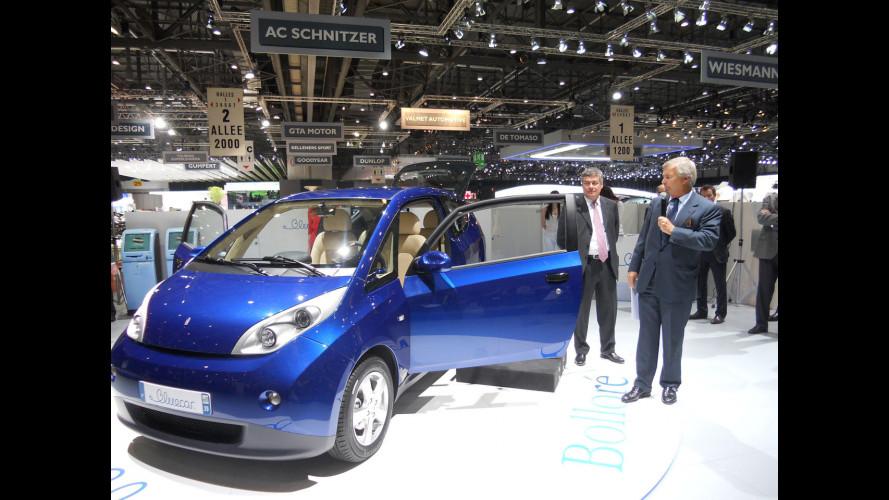 La Pininfarina Bluecar per il car sharing di Parigi