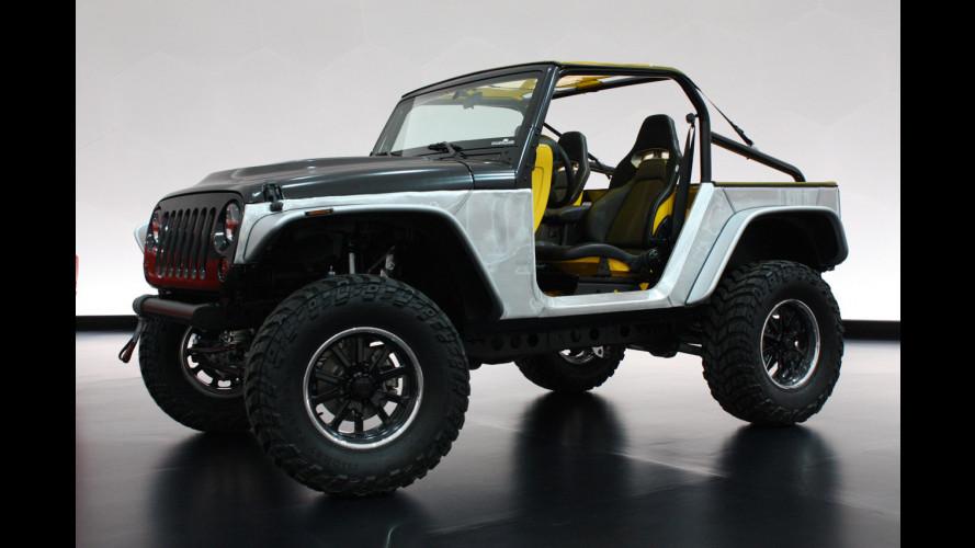 Jeep Wrangler Stitch Concept: uno sguardo alla futura Wrangler?