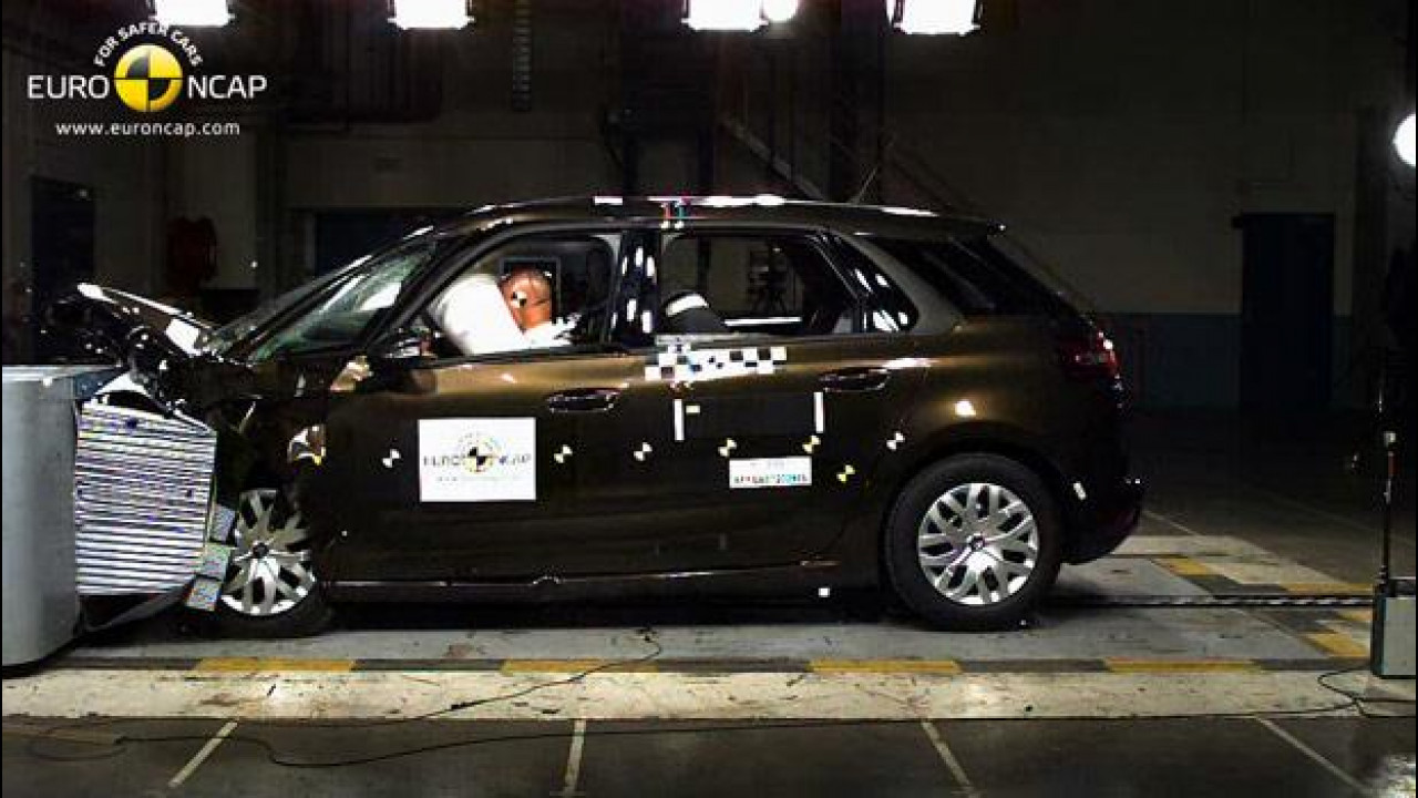 [Copertina] - Euro NCAP: 5 stelle per Citroen C4 Picasso e Honda CR-V