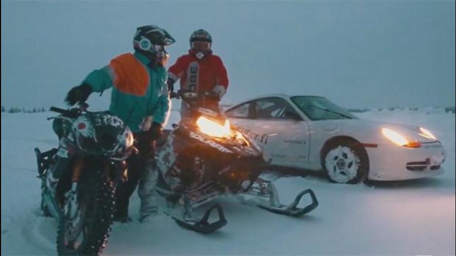Guidare in inverno? In Finlandia ci si diverte così