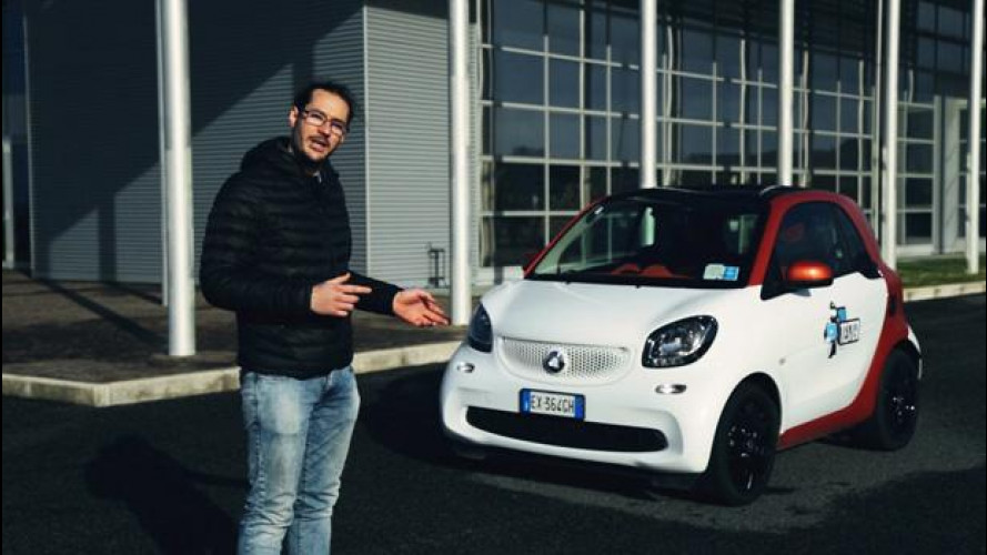 La smart fortwo secondo lo YouTester Paolo Decio