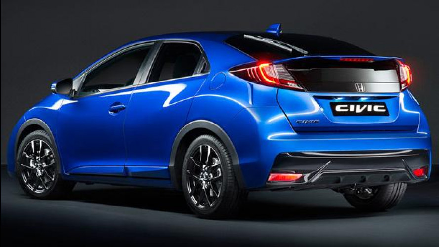 Honda Civic restyling, prezzi da 19.900 euro