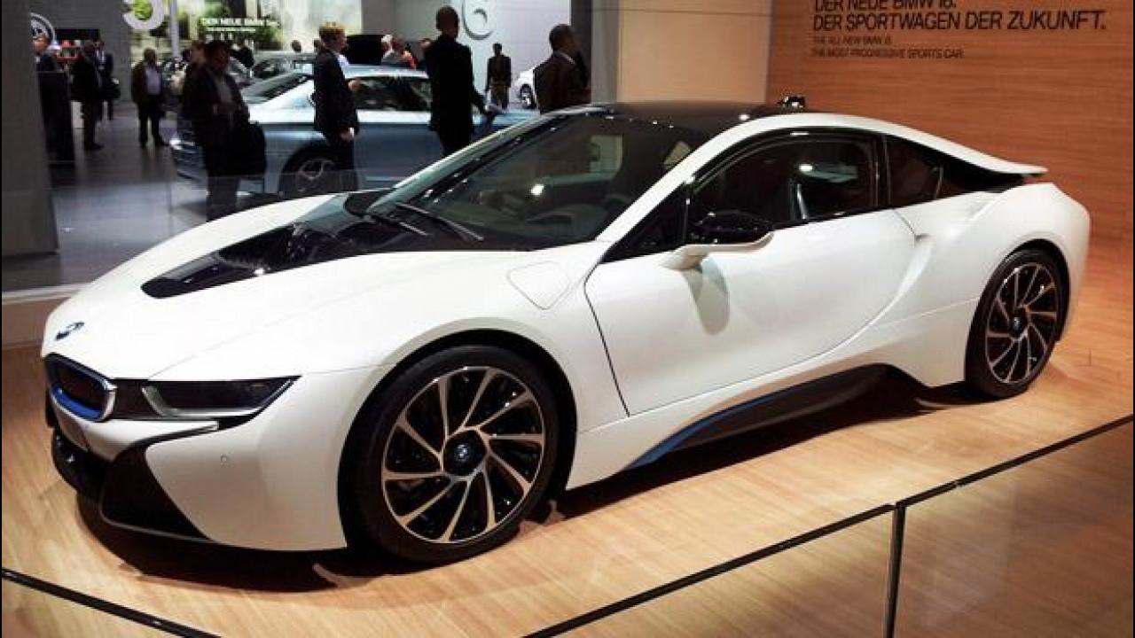 [Copertina] - Salone di Francoforte: BMW, elettrico avanti tutta