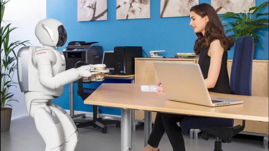 Honda Asimo, il robot sempre più evoluto