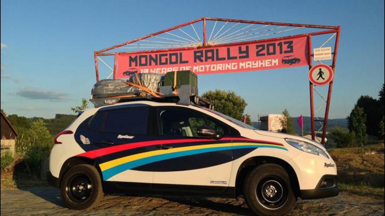[Copertina] - Peugeot 2008 e il Mongol Charity Rally 2013: missione terminata