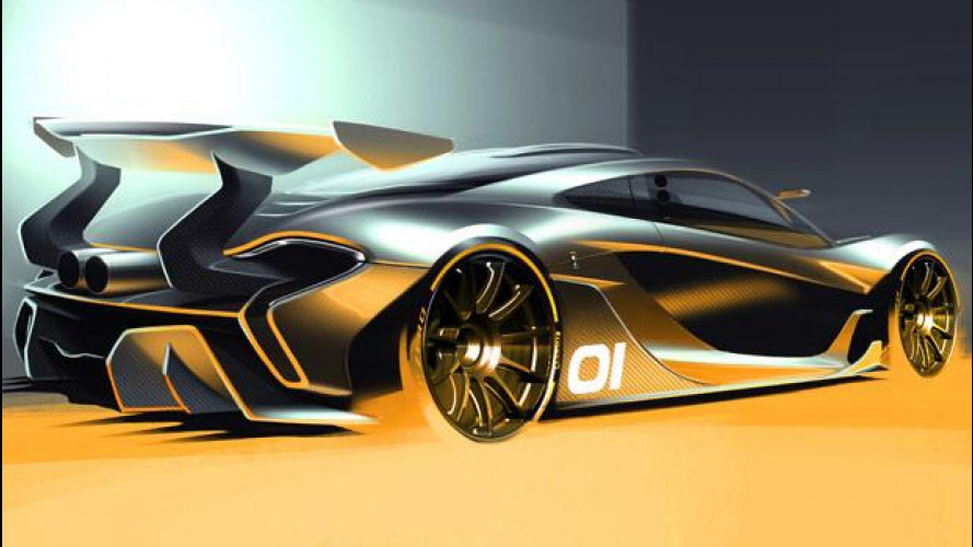 McLaren P1 GTR, per scendere in pista nei week-end