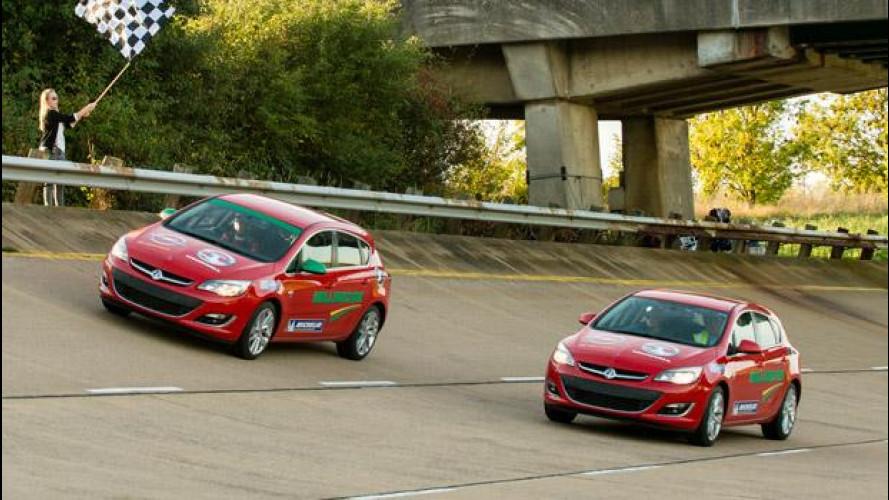 Opel Astra 2.0 CDTI, un giorno intero a 201 km/h