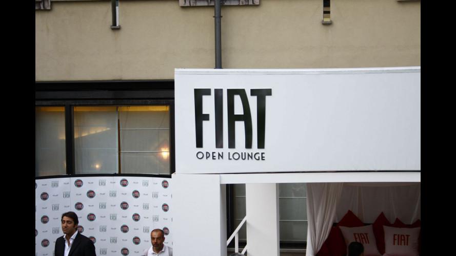 """La 500C """"apre"""" il Fiat Open Lounge di Milano"""
