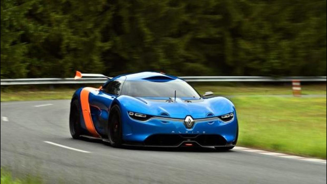 [Copertina] - Renault Alpine A110-50 Concept: nuove foto
