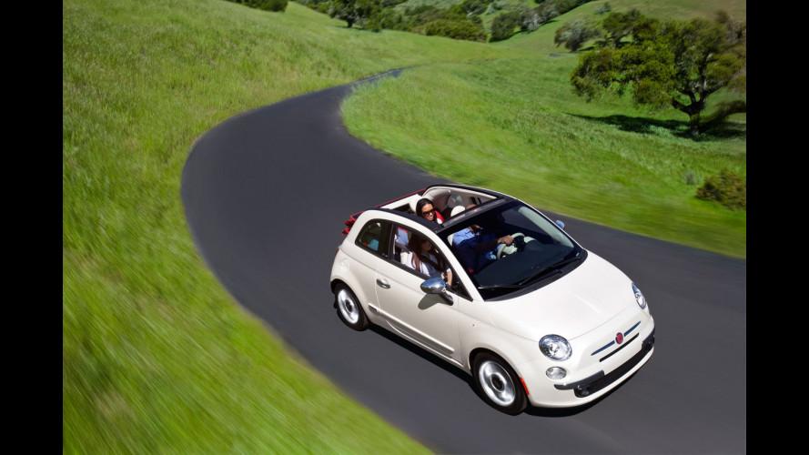 La Fiat 500 è Cabrio anche in America