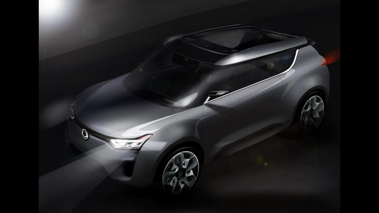 SsangYong XIV-2 Concept, i teaser