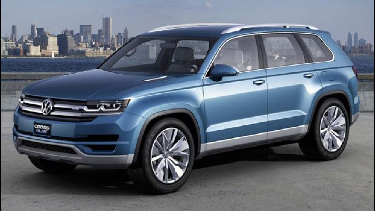 [Copertina] - Volkswagen CrossBlue Concept