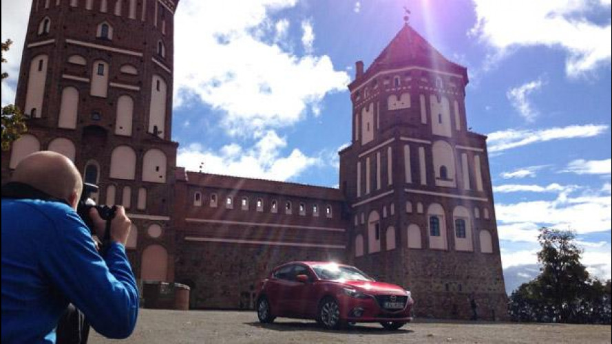 """Mazda Route3, viaggio nella """"grigia"""" Bielorussia"""
