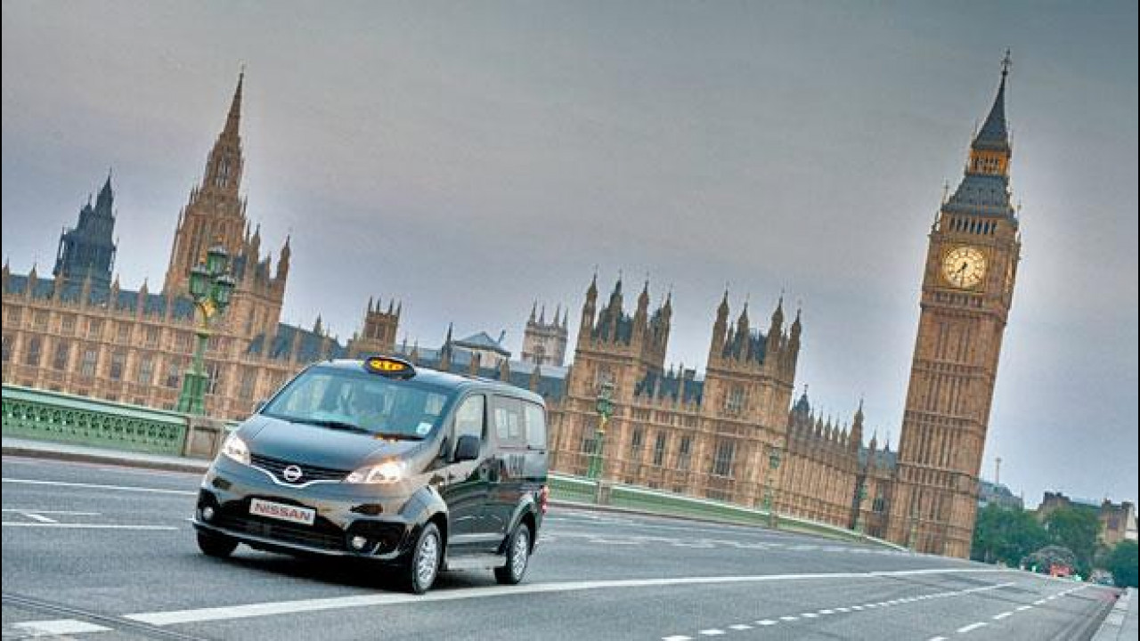 [Copertina] - Olimpiadi Londra 2012, la Nissan NV200 si fa Taxi