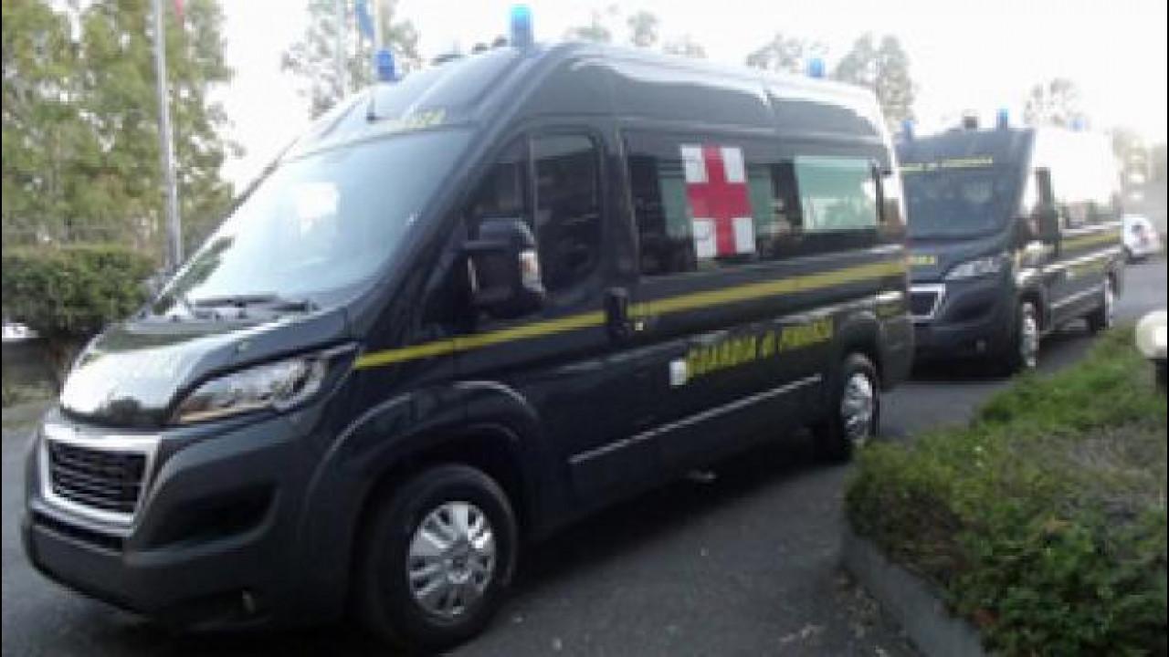 [Copertina] - Per Expo 2015 Peugeot Boxer diventa ambulanza