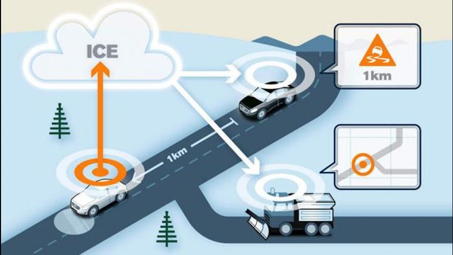 Volvo, 1.000 auto connesse contro i pericoli del ghiaccio