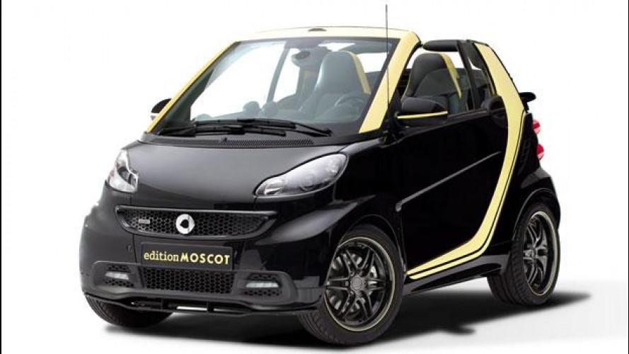 smart fortwo edition Moscot, l'addio della cabrio
