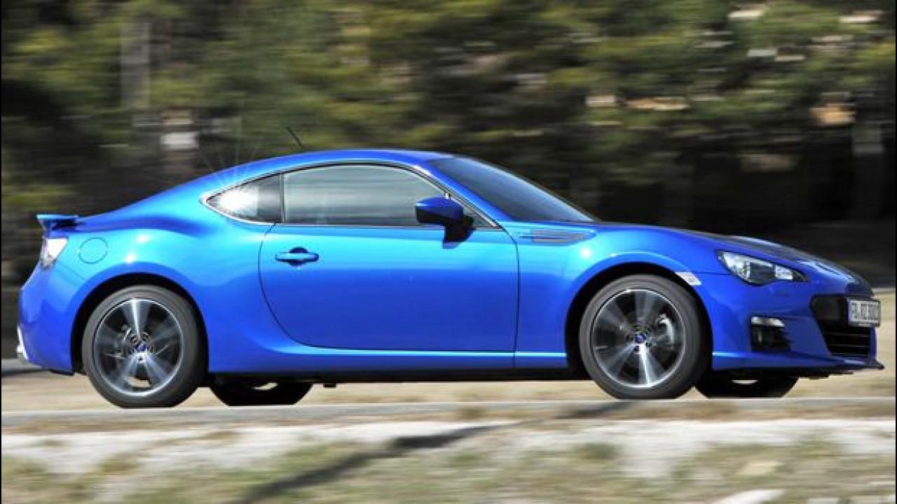 [Copertina] - Subaru BRZ, una moderna coupé... d'altri tempi