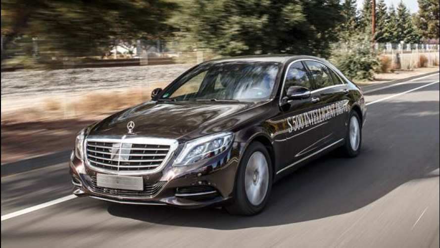 Mercedes verso la guida totalmente autonoma