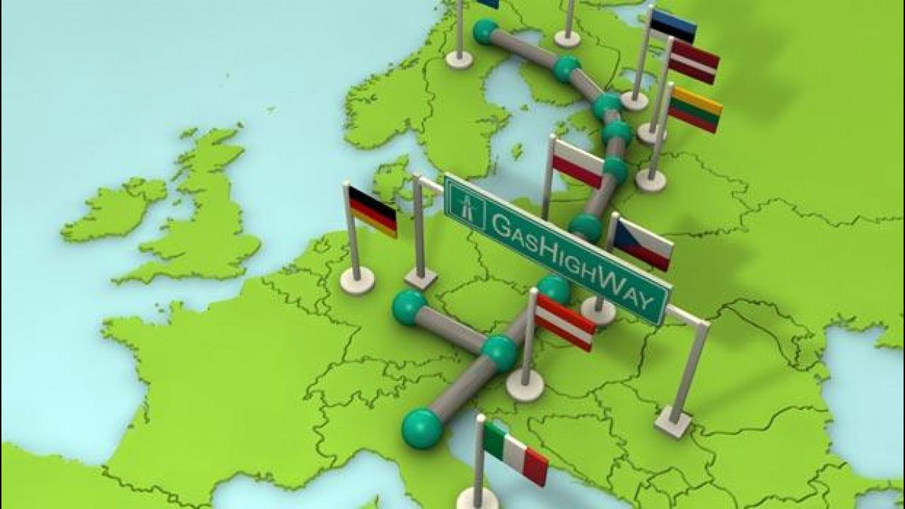 [Copertina] - Veicoli a metano: in Italia sono 785.000