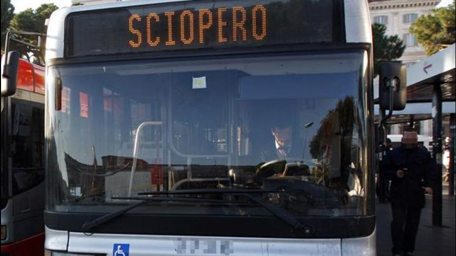 Sciopero mezzi pubblici, venerdì 24 ottobre: tutte le info