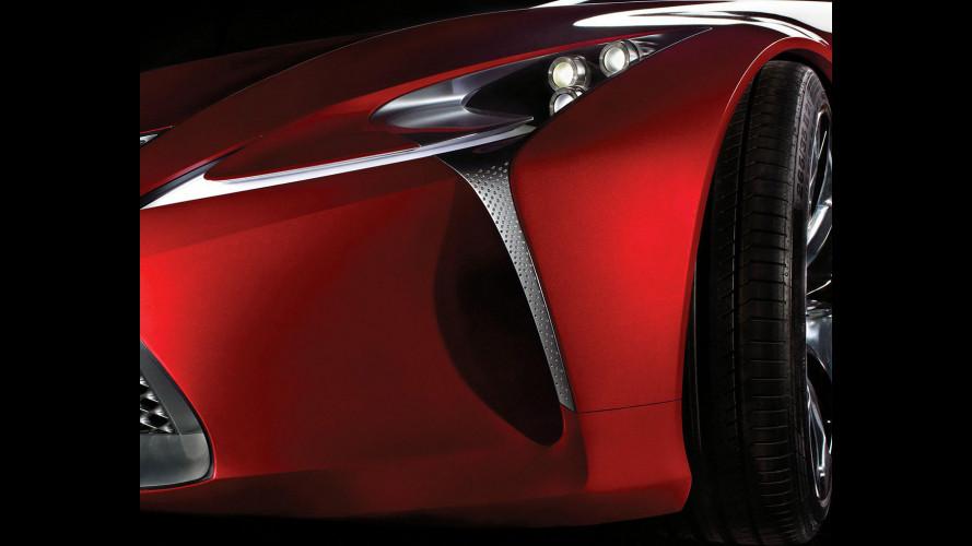 Il concept Lexus? Antipasto di ES