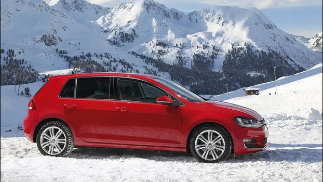[Copertina] - Nuova Volkswagen Golf 4Motion