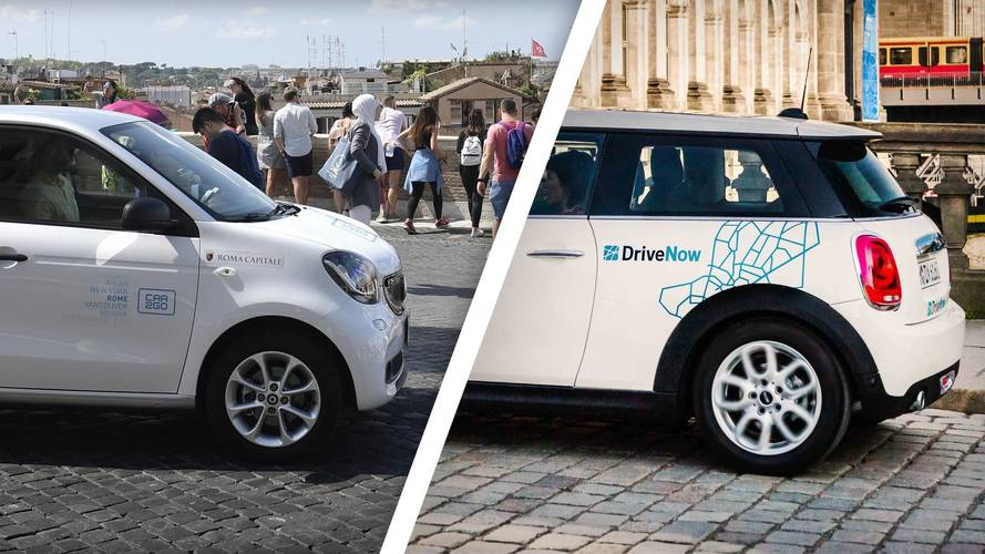 Car sharing, car2go e DriveNow si fondono