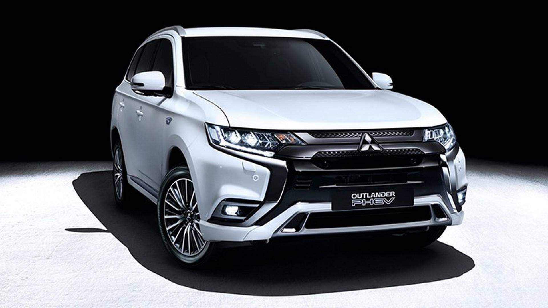 2019 Mitsubishi Outlander Phev Gets Bigger Torquier Engine
