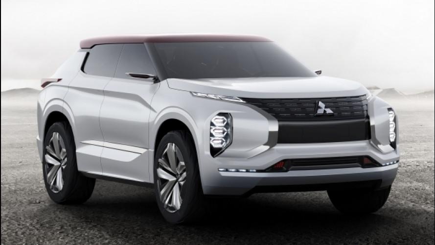 Mitsubishi GT-PHEV, finestra sul domani