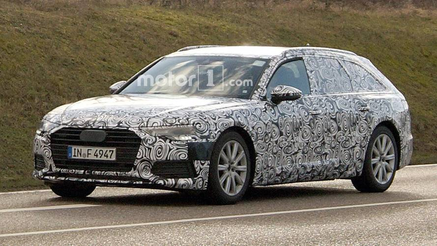 Audi A6 Avant Spy Photos