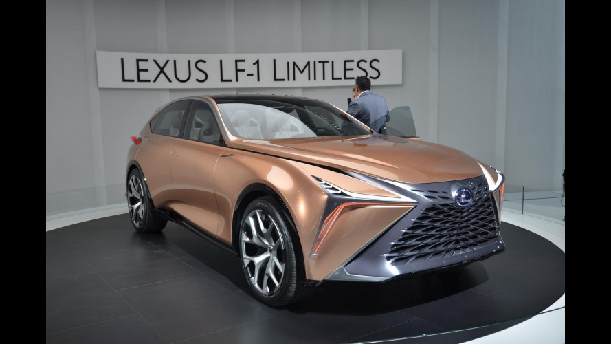 Lexus LF-1 Limitless, il futuro dell'ammiraglia è nel crossover