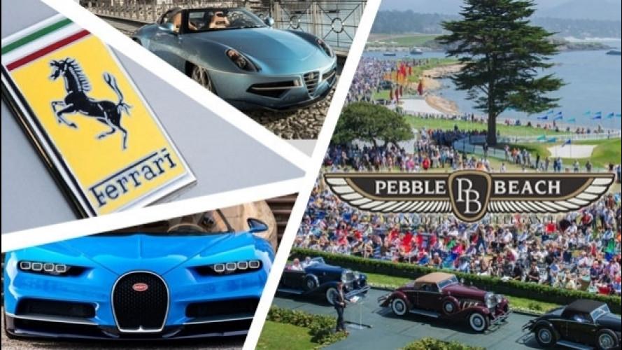 [Copertina] - Monterey, al via la Car Week e Pebble Beach 2016
