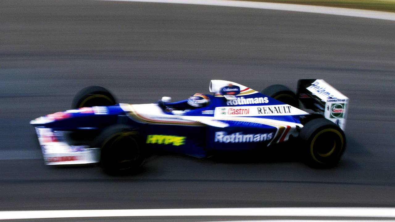 13. El Williams FW19 Renault de F1