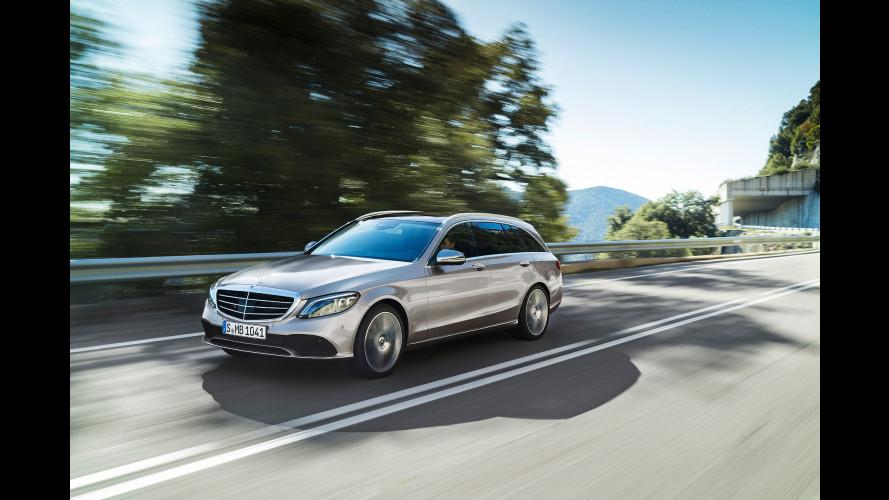 Mercedes Classe C restyling, ora è una