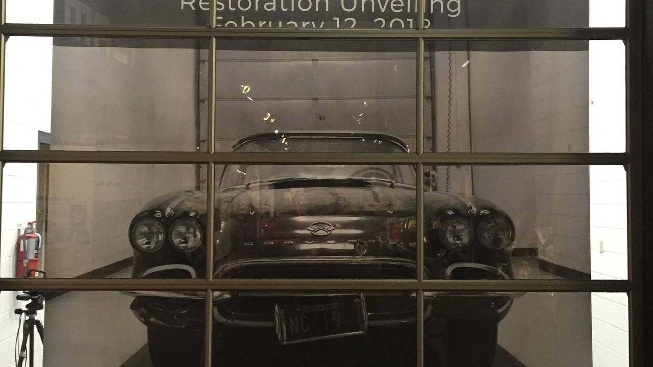 1962 Chevy Corvette Restored