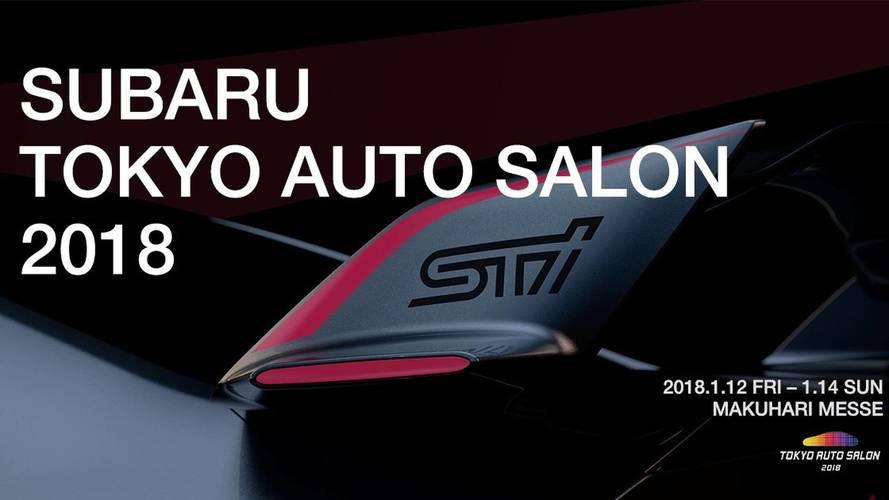 Subaru Viziv Performance STI concept teasers