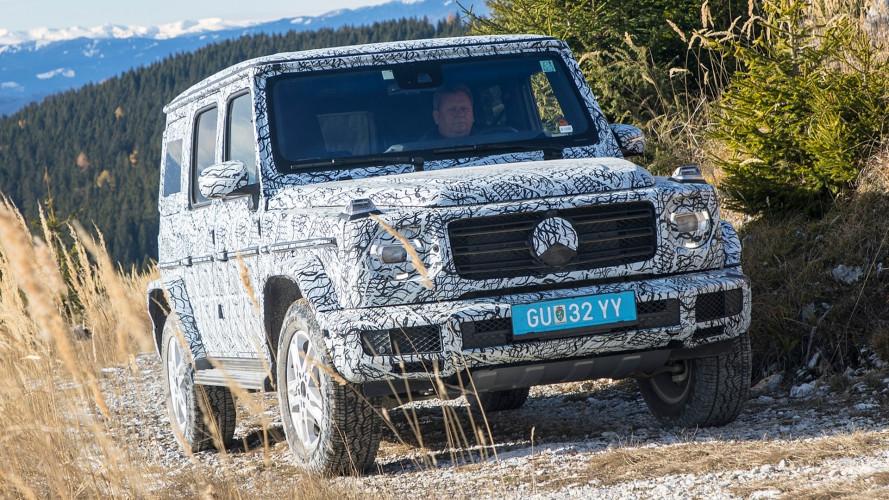 Nuova Mercedes Classe G, altre foto e dettagli tecnici
