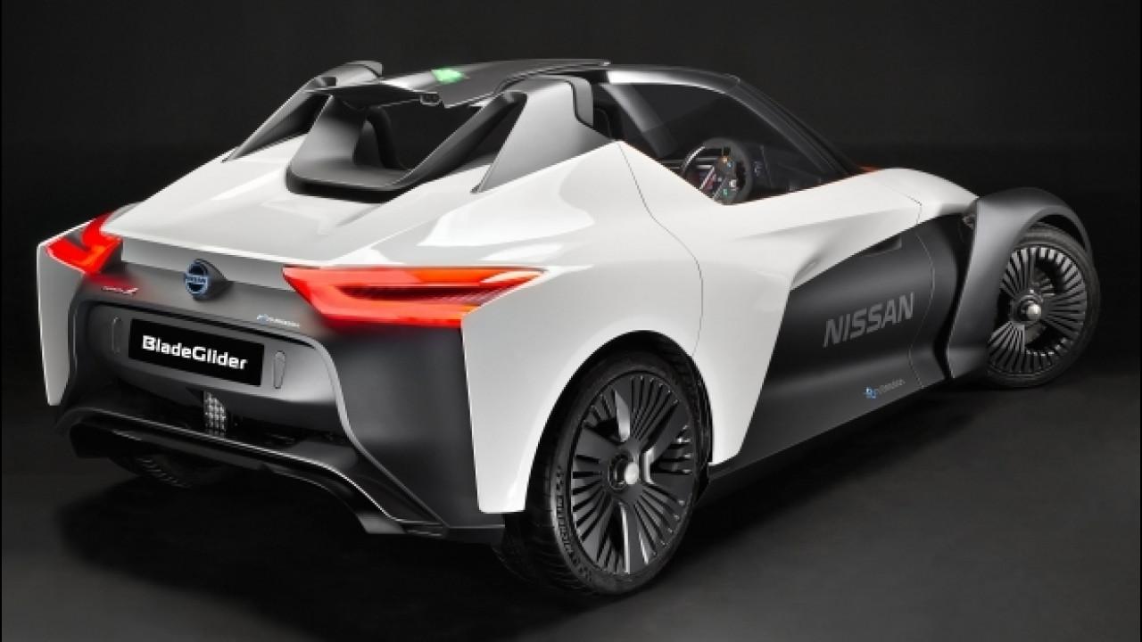 [Copertina] - Nissan BladeGlider, l'elettrica che supera i 190 km/h