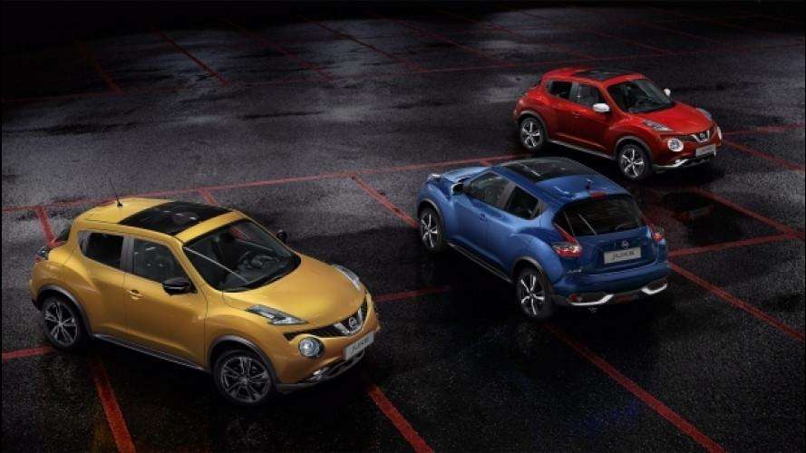 Nissan Juke, per Carnevale regala le personalizzazioni