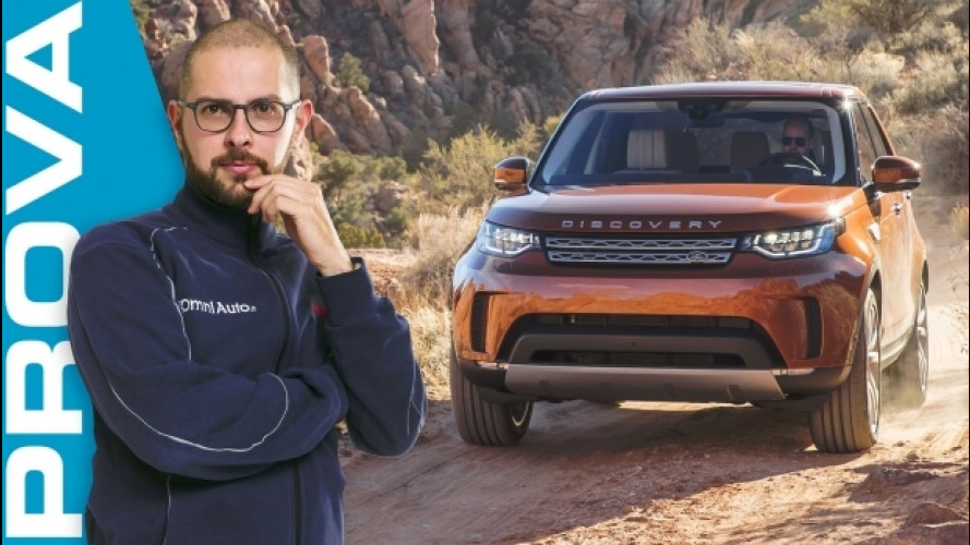 Land Rover Discovery, un'ammiraglia per l'off road [VIDEO]