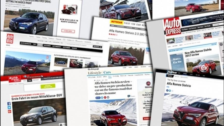 Alfa Romeo Stelvio, all'estero la giudicano così