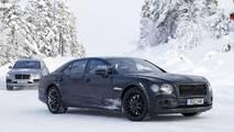 2018 Bentley Flying Spur Yeni Casus Fotoğrafları