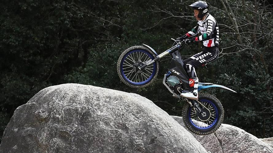 New Yamaha Electric Trials Bike Is Hyper Minimal