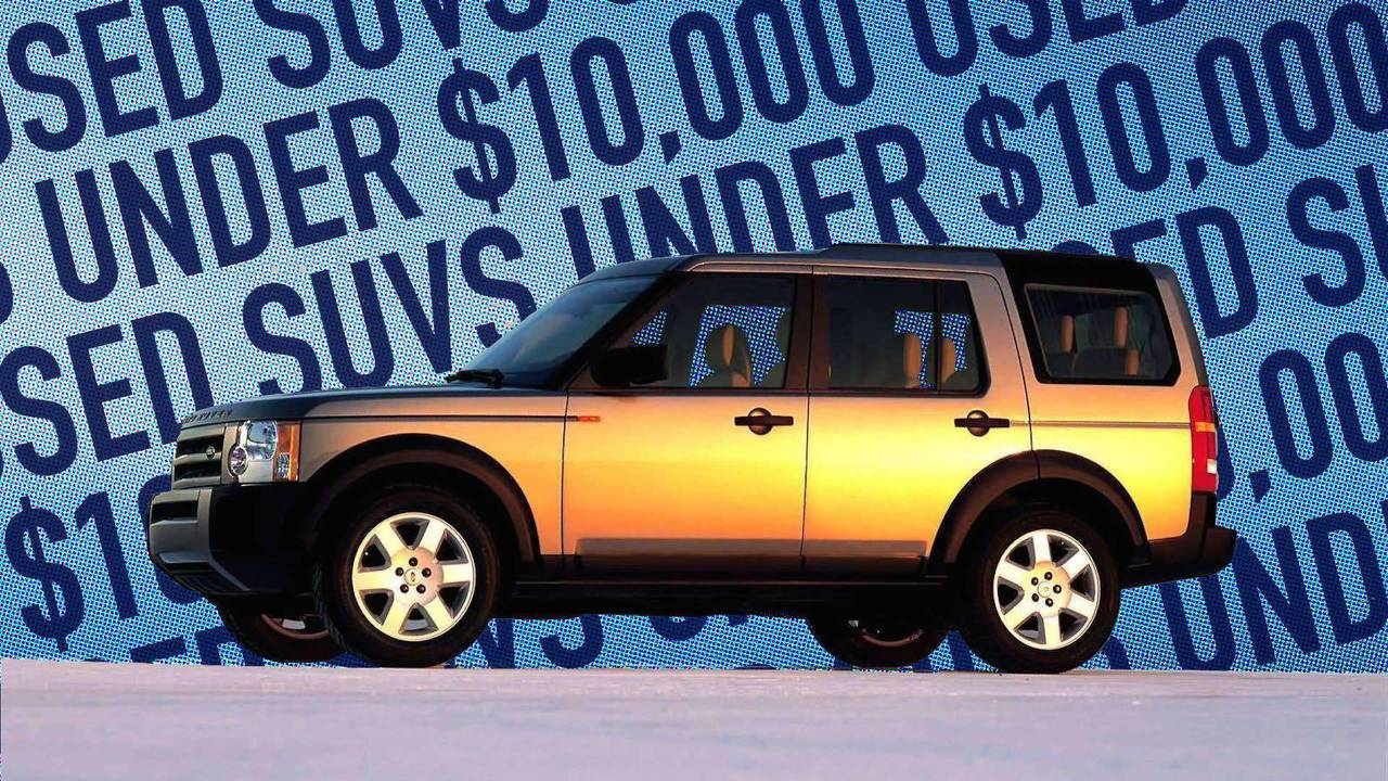 Best used suvs under 10000