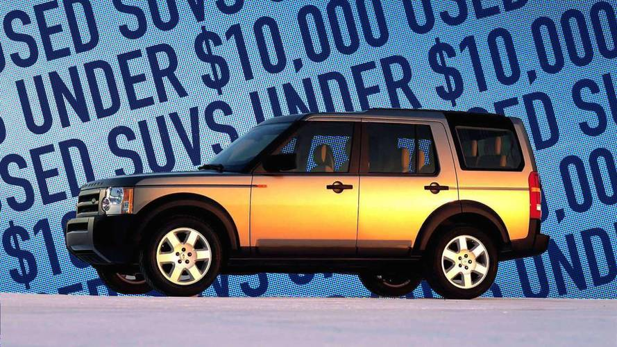 Best Used SUVs Under $10,000