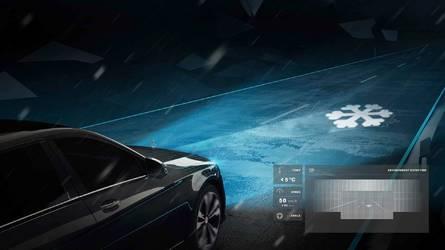 Egymillió pixellel és szimbólumvetítéssel sokkol a Mercedes új fényszórórendszere