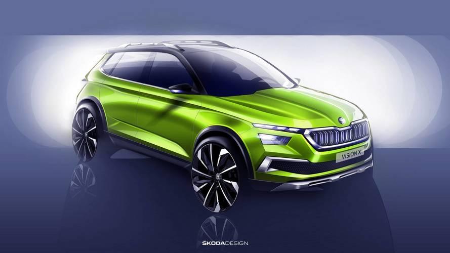 """Le petit SUV de Škoda pourrait s'appeler """"Kosmiq"""""""