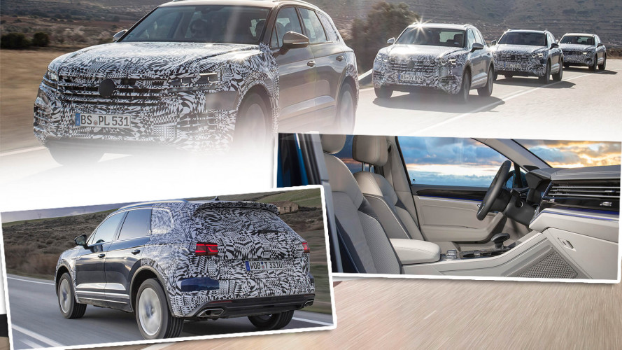 VW Touareg: Auf der Zielgerade