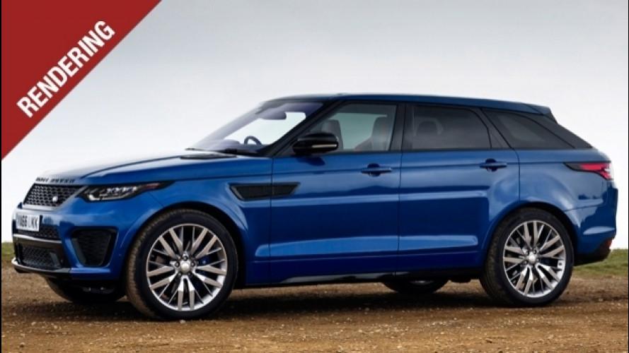 Range Rover Sport Coupé, così punta al feudo di BMW X6